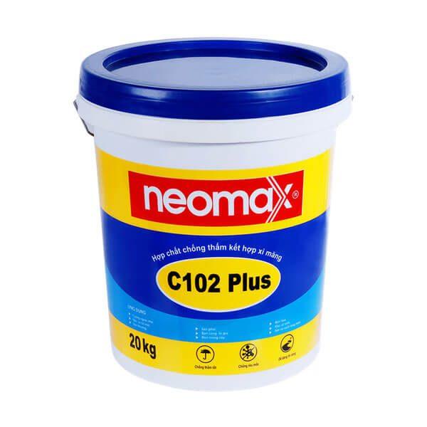 Neomax C102 Plus là hợp chất được tổng hợp từ polyme một thành phần, được sử dụng kết hợp với xi măng tạo thành hỗn hợp dạng lỏng