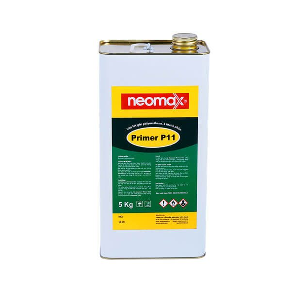 Neomax Primer P11 là lớp lót gốc polyurethane, một thành phần, dạng lỏng màu vàng nhạt.Được dùng trước khi thi công Neomax 201, polyurethane, epoxy, polyirea.