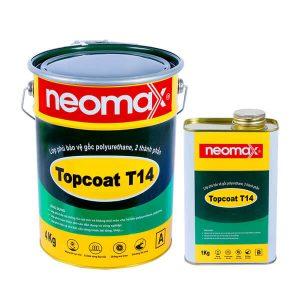 Neomax Topcoat T14 là vật liệu gốc polyurethane, hai thành phần, dạng lỏng.