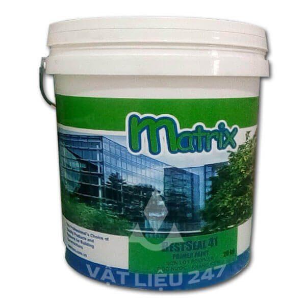 Bestseal 41 Primer Paint là loại sơn lót dành cho bề mặt mới, có khả năng chống kiềm là nguyên nhân ảnh hưởng cho hệ thống sơn phủ và tăng độ bền cho lớp sơn phủ.