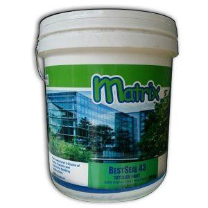 Bestseal 43 Exterior Paint là sơn nước ngoại thất cao cấp dùng sơn phủ bề mặt bên ngoài nhà.