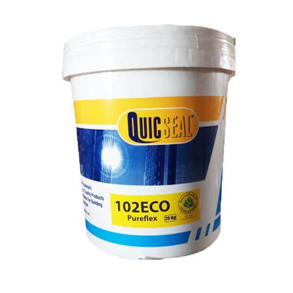 Quicseal 102 Eco là màng chống thấm đàn hồi polyurethane, có công thức đặc biệt, thi công nguội.