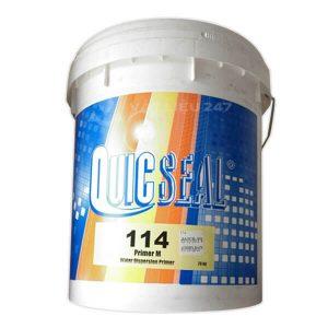 Quicseal 114 là lớp lót kết dính cho các lớp san phẳng
