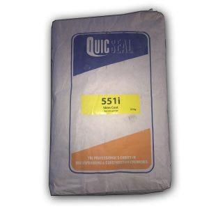 Quicseal 551 Base là bột trét tường một thành phần duy nhất, polyme cải tiến, chất lượng cao, gốc xi măng, lớp hoàn thiện mỏng