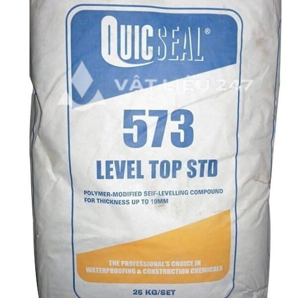 Quicseal 573 là vữa tự san phẳng gốc xi măng một thành phần