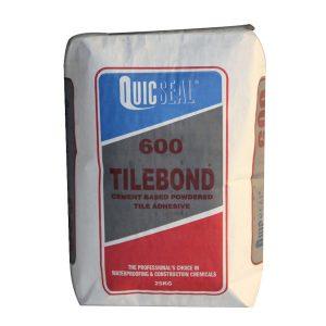 Quicseal 600 là chất kết dính dạng bột màu trắng và xám