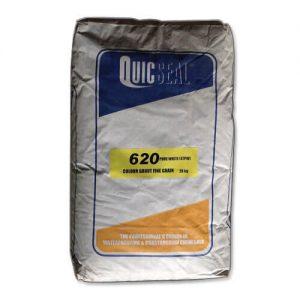 Quicseal 620 là vữa màu có công thức đặc biệt bao gồm xi măng, chất độn chọn lọc, nhựa tổng hợp và phụ gia.