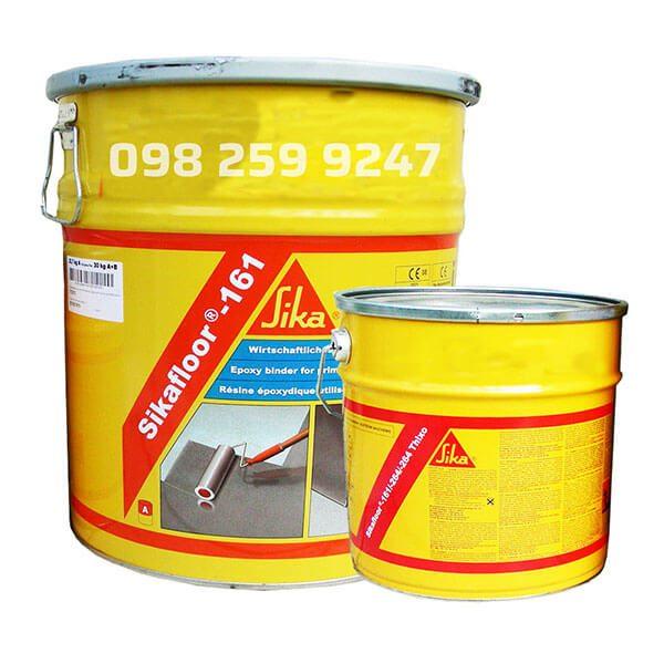Sikafloor 161 là chất kết dính nhựa epoxy hai thành phần, có độ nhớt thấp và không dung môi.Tạo vữa tự san bằng, vữa trát và lớp kết nối