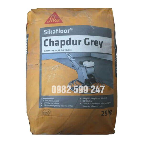 Sikafloor Chapdur Greylà chất làm cứngsàngốc xi măng, sử dụng được ngay ở dạng rắc khô. Sikafloor Chapdur Green có chứa các cốt liệu thiên nhiên rất cứng có kích cỡ thành phần hạt được chọn lọc kỹ